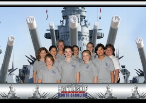 C4 & CYC on the Battleship North Carolina